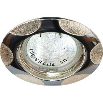 Feron Встраиваемый светильник 156T MR-16 черный металик