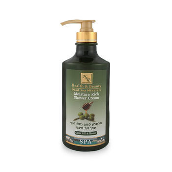 Увлажняющий крем-гель для душа Оливковое масло и Мёд Health & Beauty 780 мл