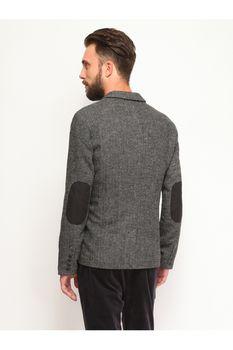 Пиджак TOP SECRET Серый с принтом SMR0213