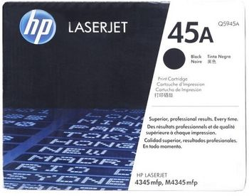 HP No.45 Black Ink Cartridge for DJ 7xx/8xx/9xx