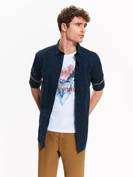 Рубашка TOP SECRET Темно синий skl2440