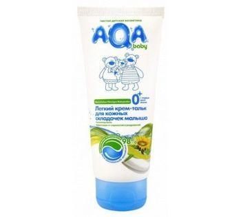 Крем-тальк для кожных складочек малыша Aqa Baby 100 мл