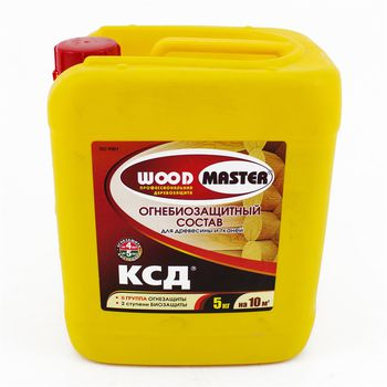 Woodmaster Огнебиозащитный состав КСД 5кг