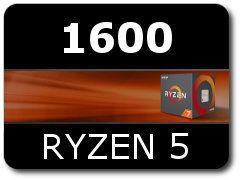 купить CPU AMD Ryzen 5 1600 (3.2-3.6GHz, 6C/12T,L2 3MB, L3 16MB,65W,14nm), Socket AM4, Box в Кишинёве