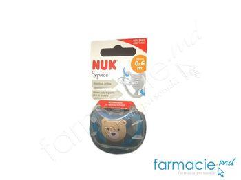 купить Suzeta NUK silicon SPACE 0-6 luni in cutie (730269) в Кишинёве