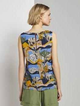Блуза TOM TAILOR Принт 1019288 tom