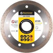 купить Алмазный диск 1A1R 125x1,4x8x22,23  Baumesser Universal в Кишинёве