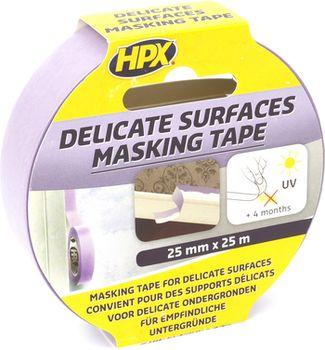 HPX 4800 Banda de mascare pentru suprafețe delicate UV-stabila + 60 С