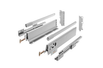 Modern Box Square alb L-450 H-210 deschidere totală cu amortizor