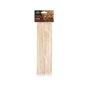 Бамбуковые шампуры Пикничок, 25 см