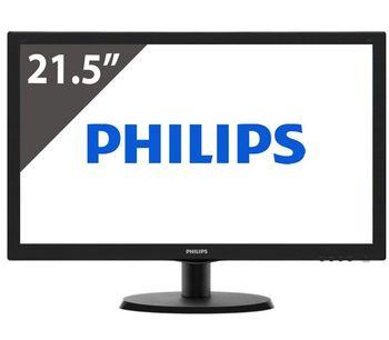 """cumpără 21.5"""" Philips """"223V5LSB"""", Black în Chișinău"""