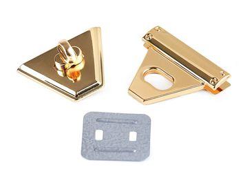 Închizătoare geantă, 47x50 mm / auriu