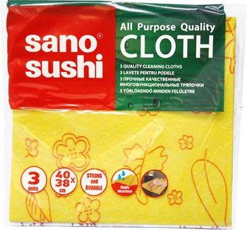 купить Sano Brite Cloth Многофункциональные тряпки (3 шт) 286334 в Кишинёве