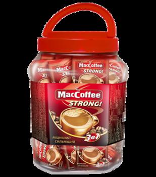 MacCoffee 3в1 Strong (50пак в банке)