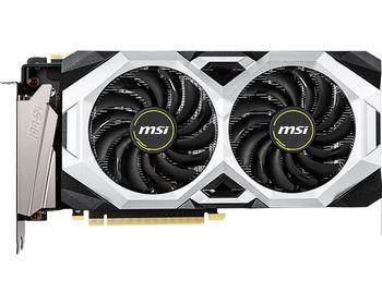 MSI GeForce RTX 2070 SUPER VENTUS GP OC 8G /  8GB GDDR6 256Bit 1785/14000Mhz, 1x HDMI, 3x DisplayPort, Dual fan - Customized Design, TORX Fan2.0, 6mm copper Heat Pipes, Sturdy Backplate, Retail
