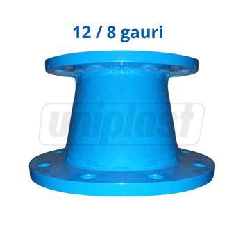 купить Переход флянц.чугун dn 250 х 100 PN 10 L=200mm (12/8 отверс) Blucast в Кишинёве