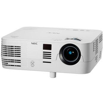NEC VE281XG, DLP 3D, XGA, 1024x768, 3000:1, 2800Lm, 6000hrs (Eco), HDMI, White, 2.3kg