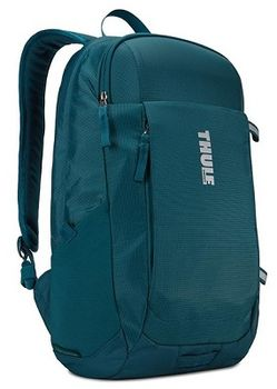 "14-15"" NB Backpack  THULE - EnRoute 18L, Teal, Safe-zone, 840D nylon, 330D nylon mini ripstop, Dimensions: 27 x 23 x 44 cm, Weight 0.60 kg, Volume 18L"