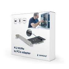 "PCI-Express для M.2, Gembird ""PEX-M2-01"", NVM Express, 2280, 2260, 2242, возможность загрузки с UEFI v2.3.1"