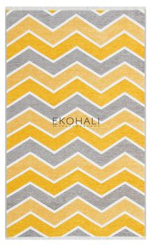 Ковёр EKOHALI Noa Kilim NK 05 Grey Yellow