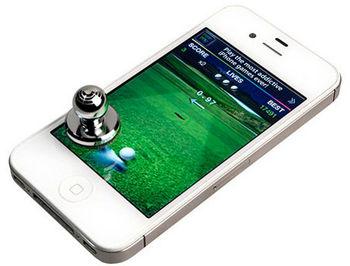 Tracer Tablet&Smartphone Joystick JoyTouch Stamp X1, no power, aluminium, silver (джойстик для планшетов и смартфонов)