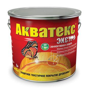 Акватекс Лак Акватекс Экстра Каштан 3л