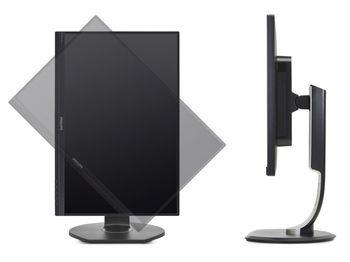 "купить ""23.8"""" Philips """"241B7QUPEB"""", Black (IPS, 1920x1080, 5ms, 250cd, LED20M:1, D-Sub+USB-Dock,Spk,HAS/Pvt) (23.8"""" IPS LED, 1920x1080 Full-HD, 0.275mm, 5ms GTG, 250cd/m², DCR 20 Mln:1 (1000:1), 16.7M Colors, 178°/178° @CR>10, 30-83 kHz(H)/56-76 Hz(V), USB 3.0 upstream + Analog D-Sub, USB Docking, USB Audio-In, Headphone-Out, Built-in speakers 2Wx2, USB 3.0 x3-Hub, Built-in PSU, HAS 150mm, Tilt: -5°/+20°, Swivel +/-175°, Pivot, VESA Mount 100x100, Flicker-free, PowerSensor, Black)"" в Кишинёве"
