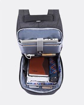cumpără Rucsac Tigernu T-B3335 Antifurt cu port USB și compartiment pentru laptop 15.6 în Chișinău
