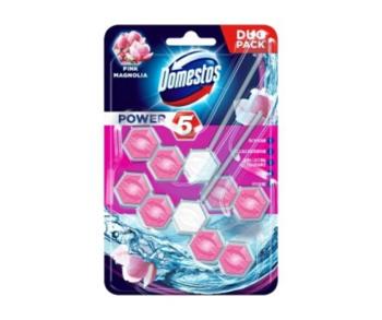 Блок для очищения унитаза Domestos Power 5 Pink Magnolia, 2 шт x 55 г