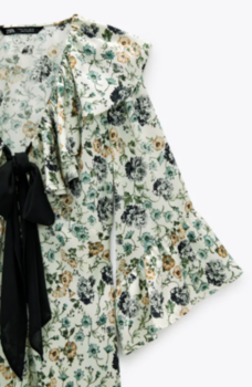 Блуза ZARA Цветочный принт 7890/178/069