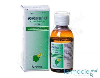 купить Bronholitin Neo sirop 110 ml~ в Кишинёве