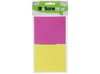 Set Memory Stick 134 foi, 9.7X8.5сm, 2 culori neon