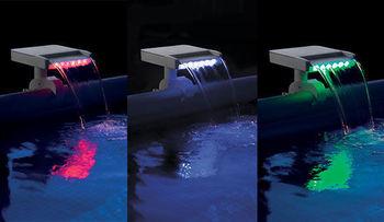 купить Водопад для бассейна с цветной LED-подсветкой в Кишинёве