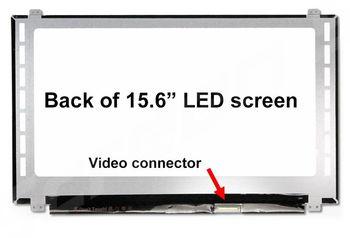 """Display 15.6"""" LED Slim 40 pins Full HD (1920x1080) Brackets Up-Down Matte LG N156HGE-LB1, B156HW03 V.0, B156HTN02.1, B156HTN03.0, B156HTN03.2 N156HGE-LA1"""