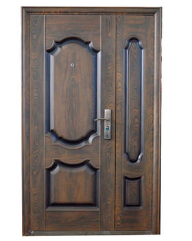 Дверь металлическая TPC 61F 1200x2050x70 мм орех
