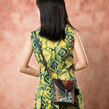 cumpără Geanta de umar din piele naturala, stil vintage, de dimensiuni mici în Chișinău