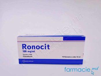 купить Ronocit sol. orala 100 mg/ml  10 ml N10 в Кишинёве