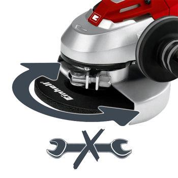 купить Угловая шлифовальная машина Einhell TE-AG 125 CE 125 мм в Кишинёве