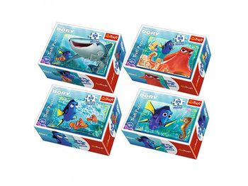 "54147 Trefl Puzzles - ""54 mini"" - Underwater land/Disney Finding Dory"