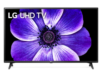 "43"" TV LG 43UM7020PLF, Black (SMART TV)"