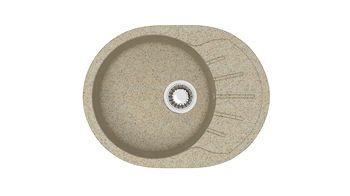 купить Матовые кухонные мойки из литьевого мрамора  (песочный.) F010Q5 в Кишинёве