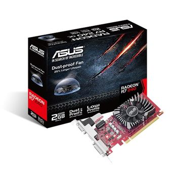 купить VGA card PCI-E ASUS R7240-2GD5-L в Кишинёве
