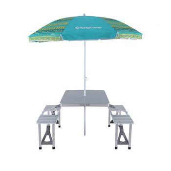 Зонт с отражателем и трезубцем 180x120 см KingCamp Fantasy KC7010 (998)