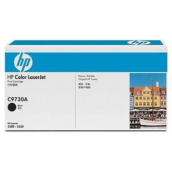 HP Color LaserJet 5500/5500N/ 5500DN/5550/5550N/5550DN Smart Print Cartridge, Black (13000pages) C9730A
