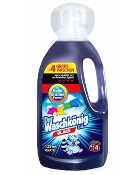 cumpără Detergent lichid Der Waschkonig Black 1,625, 46 de spalari în Chișinău