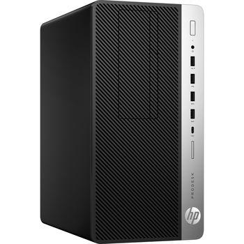 HP ProDesk 600 G5 MFF (lntel® Core® i5-8500T, 8GB DDR4 RAM, 256GB SSD, No ODD, Intel® HD 630 Graphics, USB 3.1 Type-C, DP, WiFi Intel AC 9560 + BT.5, wireless HP Business MS&KB, Win 10 Pro, Black)