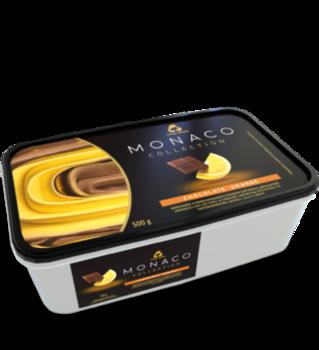 """Мороженое """"MONACO"""" со вкусом апельсина и шоколада, 500гр"""