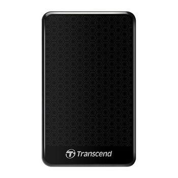 "2.5"" External HDD 2.0TB (USB3.0), Transcend StoreJet 25A3, Black, Durable and Shock-resistant, 2.5"" External HDD 2.0TB (USB3.0), Transcend StoreJet 25A3, Black, Durable and Shock-resistant, Sleek, mirror-like exterior enhances tactile and visual ap"