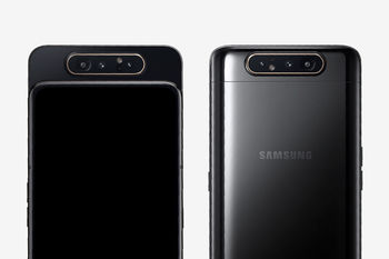 купить Samsung Galaxy A80 2019 8/128Gb Duos (SM-A805), Black в Кишинёве