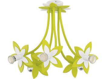 купить Светильник FLOWERS зел 5л сер-коричн 6901 в Кишинёве